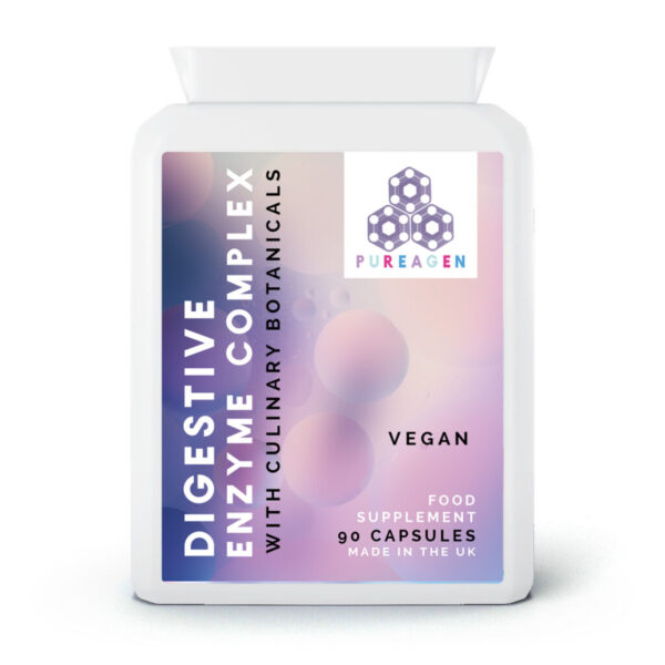 Digestive Enzyme complex - 90 capsules Ⓥ